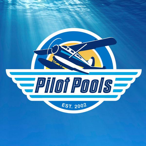 Logo Identity Design - Pilot Pools