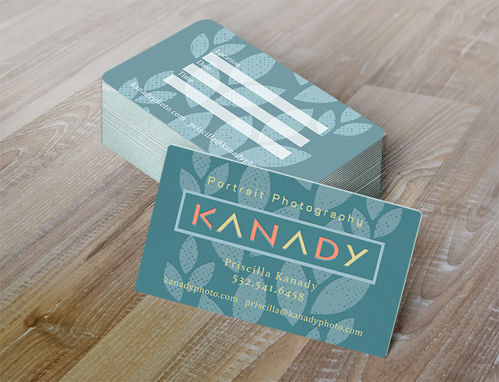 Business Cards for Kanady Photography